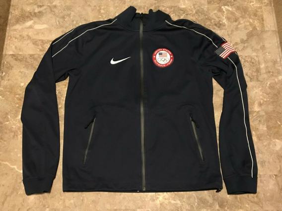 Jaqueta Estados Unidos Usa Eua Nike Time Olimpico Americano