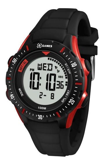 Relógio X-games Masculino Digital Xmppd438 Vermelho Promoçao