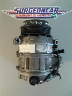 Compresor De Aire Acond.mercedes Benz Ml350 4matic 2009