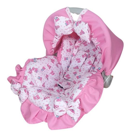 Capa Para Bebê Conforto Multimarcas Rosa