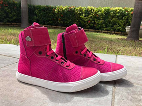 Tênis Cano Curto, Rosa Pink, Sneaker Hardcorefootwear