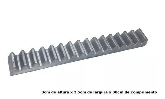 Kit 2 Cremalheira Alumínio Industrial Gomo 30cm Peccinin
