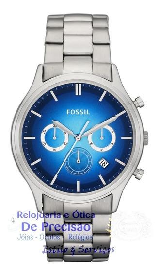 Relógio Fossil Cronógrafo Ansel Ffs4674/z