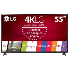 Smart Tv Led 55 Ultra Hd 4k Lg 55uj6300 Sistema Webos 3.5