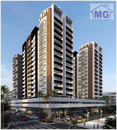 Imagem 1 de 30 de Flat Para Alugar Por R$ 1.300,00/mês - Costa Do Sol - Macaé/rj - Fl0012