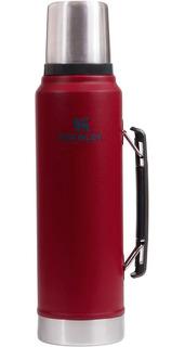 Termo Stanley Clasico C/tap Cebador 1 Litro Rojo
