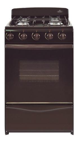 Imagen 1 de 1 de Cocina Ormay Okey Petit multigas 4 hornallas  marrón puerta  con visor