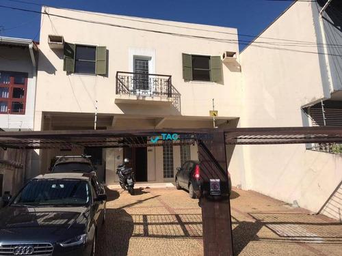 Casa, 280 M² - Venda Por R$ 1.500.000 Ou Aluguel Por R$ 6.500/mês - Grupo Residencial Do Iapc - Campinas/sp - Ca0977