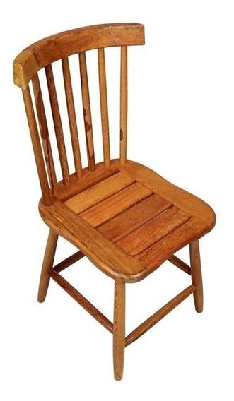 Cadeira De Madeira Grande Estilo Country Preço Promocional