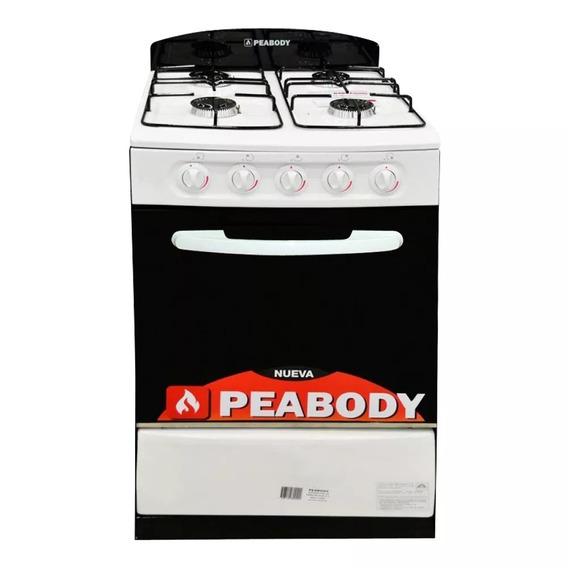 Cocina Familiar Peabody 56 Cm Puerta Vidrio Clase A Val Seg