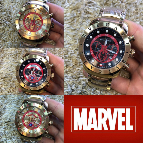 Bulgari Marvel Personagens
