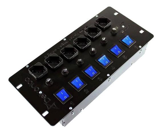 Mesa Chaveadora Deltrônica 6 Canais Com Indicador Voltagem