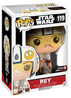 Funko Pop Rey Exclusive 119 Star Wars En Mano ¡¡¡