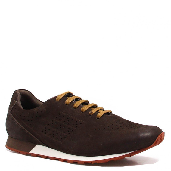 Sapatênis Zariff Shoes Casual Couro 411102