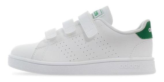 Tenis adidas Advantage C - Ef0223 - Blanco - Niños