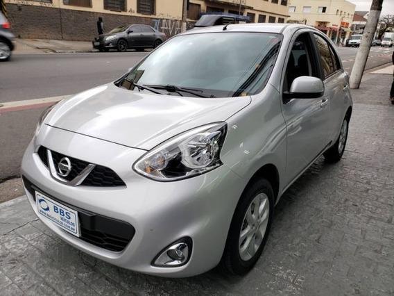 Nissan March Sv 1.6 16v Flex, Fwx5887