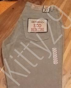 Pantalon De Mezclilla Corte Recto 100% Algodon
