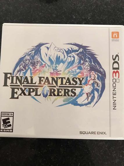 Final Fantasy Explorers 3ds - Usado