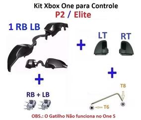 Xbox One Gatilho Rb Lb + Rt Lt + Chave T8/t6 + Clicks Rb Lb