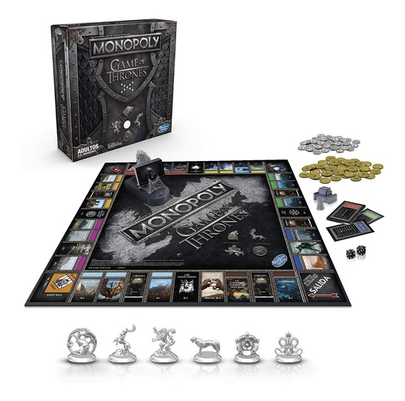 Monopoly Game Of Thrones Con Sonido En Español (en D3gamers)