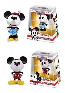 Figuras Metals Combo Mickey Y Minniejada Ambos Incluidos