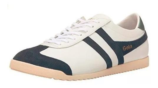 Tenis Gola Masculino Tam 43 Branco Com Azul Marinho Original
