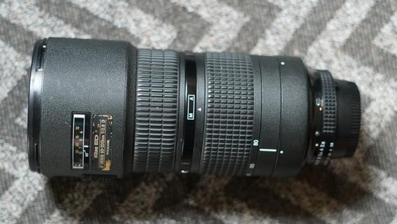 Lente Nikon 80-200mm 2.8 Foco Automático Com Case