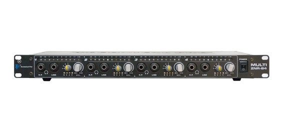 Amplificador De Audifono Technnical Pro Znrb4 En 50 Verdes