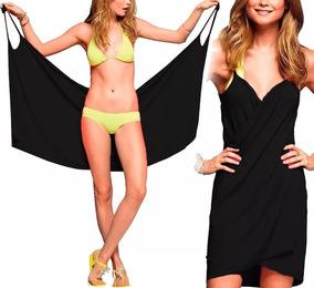 Kit 2 Vestido Saída De Praia Plus Size Moda Feminina