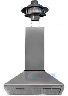Campana De Cocina Acero 60 Cm Motor Exterior 1000 M3/h