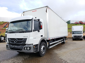 Mercedes-benz Mb Atego 1419 4x2 Bau / Financiamos