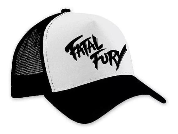 Gorra Fatal Fury Black!! Envío Gratis!