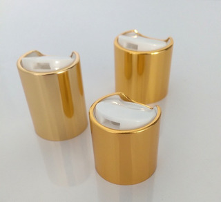Tapa Disc Top R-24/410 Con Casquillo Alum Oro (200pzs)