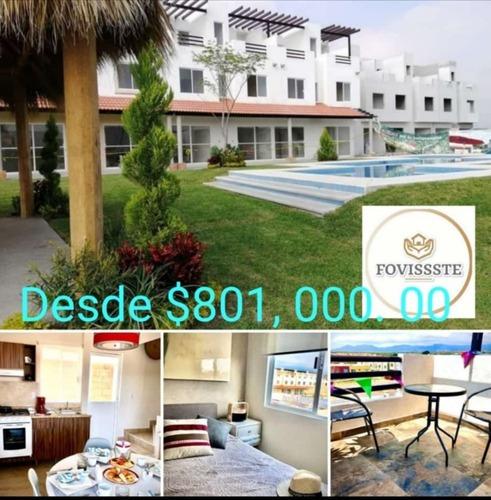 Residencial Cuspide Casa 3 Recamaras 2 Terrazas Fovissste