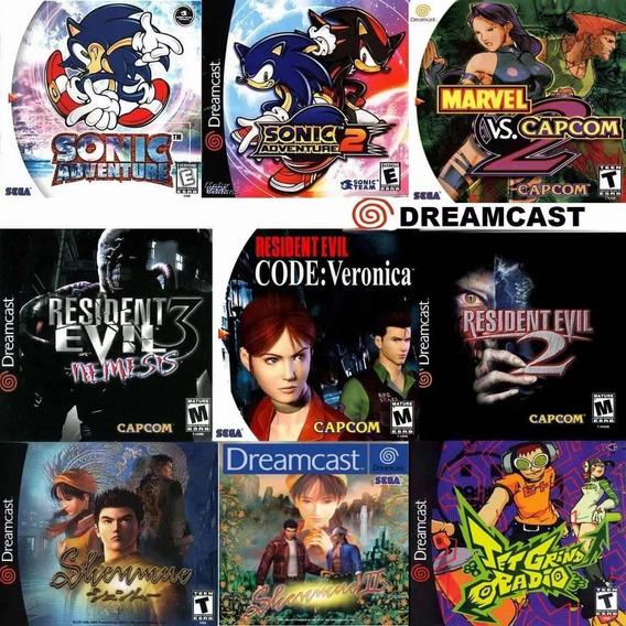 Patches De Jogos Dreamcast Pacote Com 5 Jogos