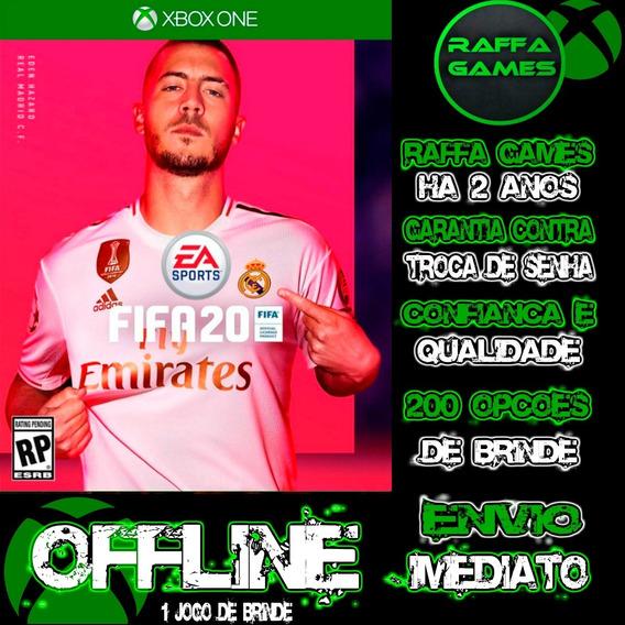 Fifa 20 Em Português Br Xbox One Digital Offline + Brinde