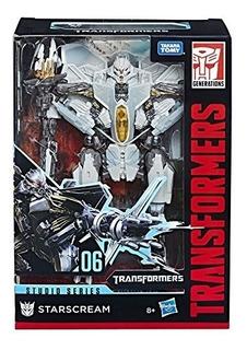Muñeco Transformers Starscream Generations E0702 Hasbro