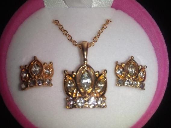 Aretes Y Collar Princess