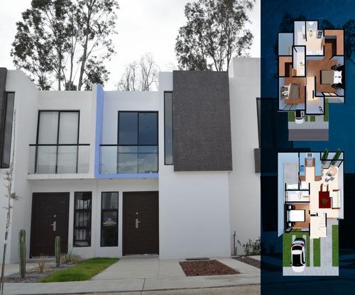 Imagen 1 de 9 de Casa Cerca A Zona Industrial Con 3 Recamaras 3 Baños