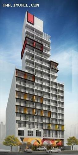 Imagem 1 de 15 de Apartamento Para Venda Em São Paulo, Bela Vista, 1 Dormitório, 1 Suíte, 1 Banheiro - 095_1-1274665