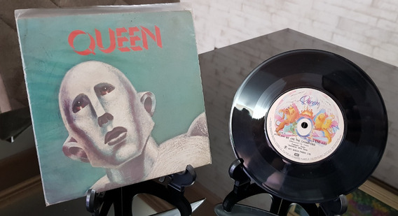 Lp 7 - Queen We Are The Champions - Emi - 1977 - Raridade