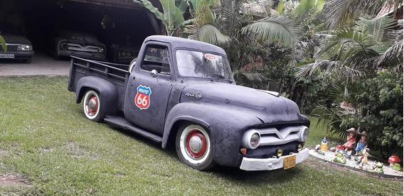 Ford F100 1955 Motor Diesel Funcionando