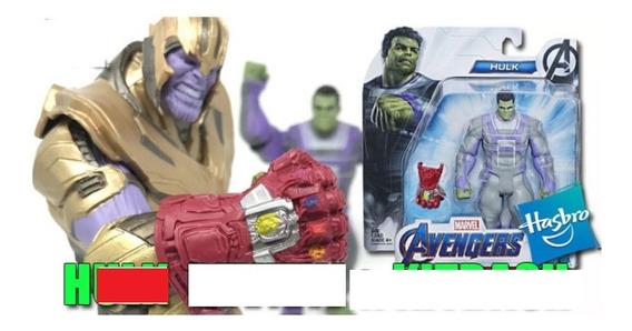 Hulk Y Guantelete Del Infinito De Iron Man Avengers End Game