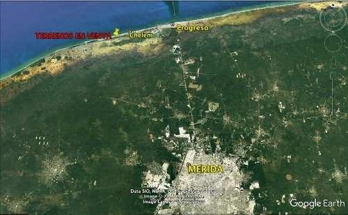 En Venta Terreno En Chuburna Puerto, Progreso Yucatan