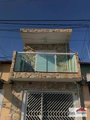 Sobrado Residencial À Venda, Cidade Líder, São Paulo. - So2579