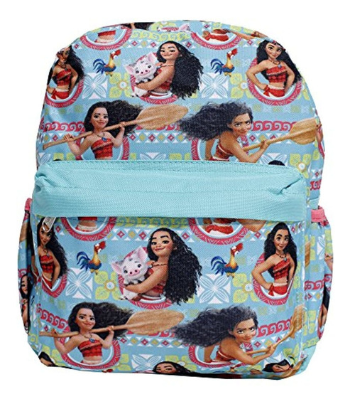 Ruz Disney Moana & Pua Small Blue Girls School Backpack