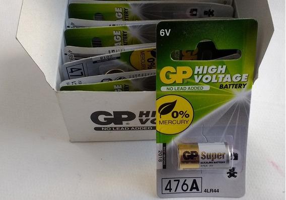 Pilha Bateria Gp 6v 4lr44 P/ Coleira Anti Latido 5 Unidades
