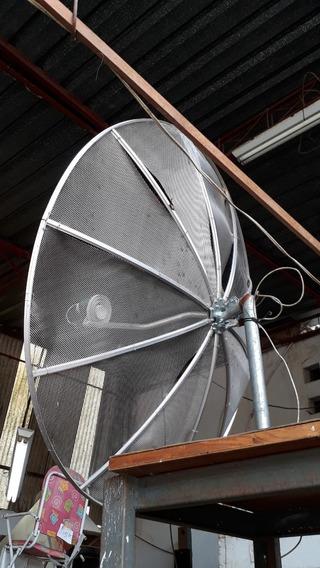 Antena Parabólica 1,70 Mtrs 10 Telas Telada C.2567