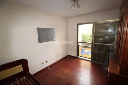 Excelente Apartamento Em Moema - Pj52311