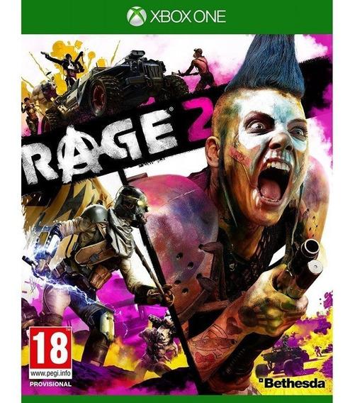 Rage 2 Xbox One - Envio Rápido (25 Dígitos)
